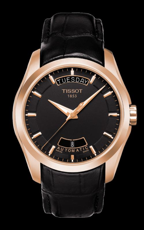 TISSOT T035.407.36.051.00 COUTURIER black index
