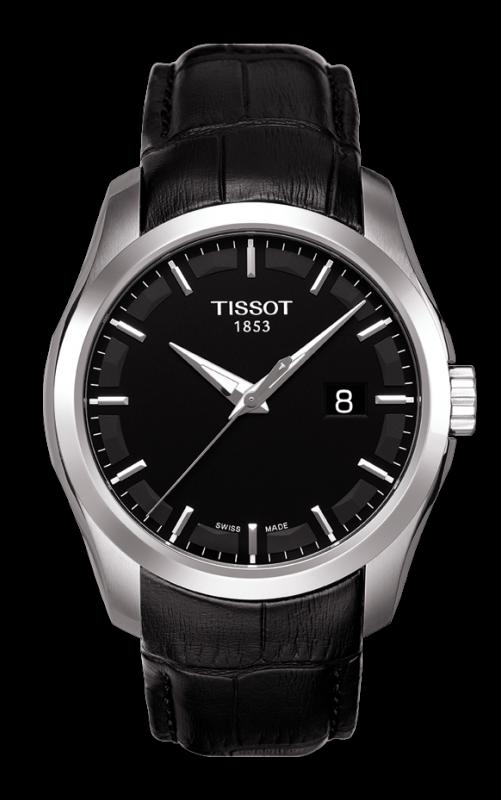 TISSOT T035.410.16.051.00 COUTURIER black index