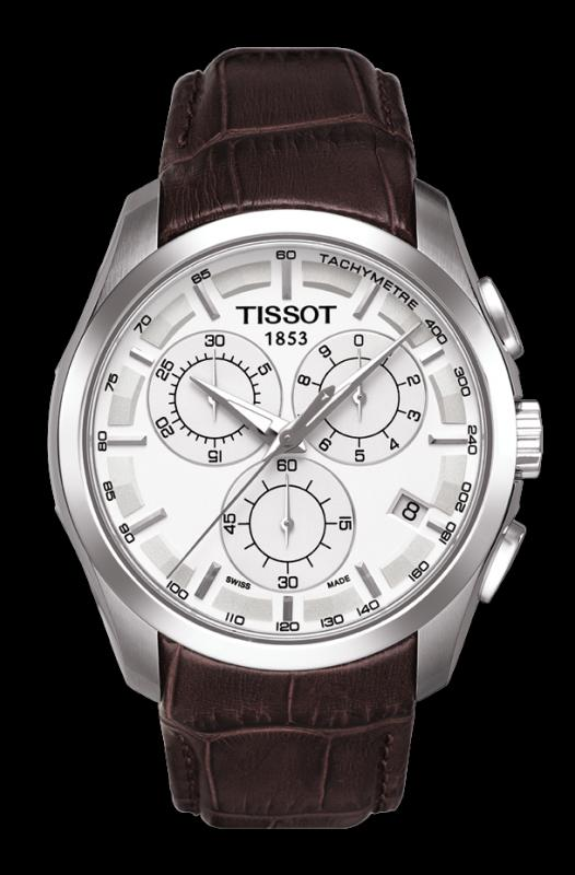 TISSOT T035.617.16.031.00 COUTURIER silver index