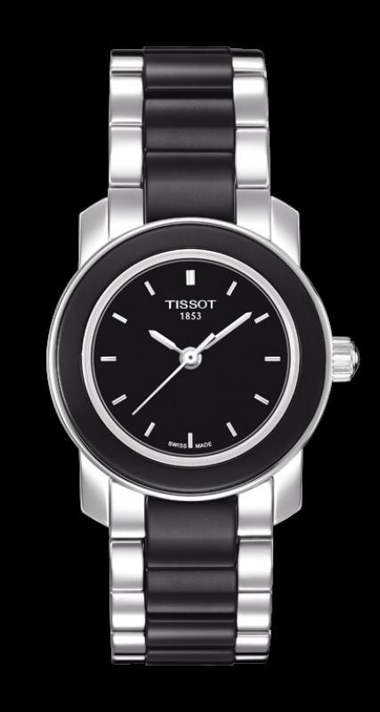 TISSOT T064.210.22.051.00 CERA black index