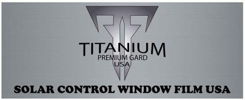 Titanium Premium Gard USA T-Tint Gold car window film