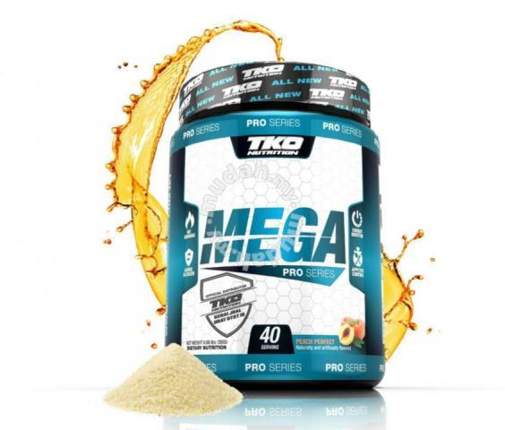 TKO Mega Fat Burner Pro Series (Bakar Lemak loss Weight)