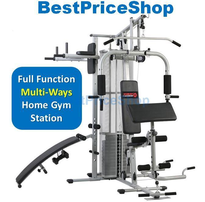 Tlst multi way all functions home gym station fitness