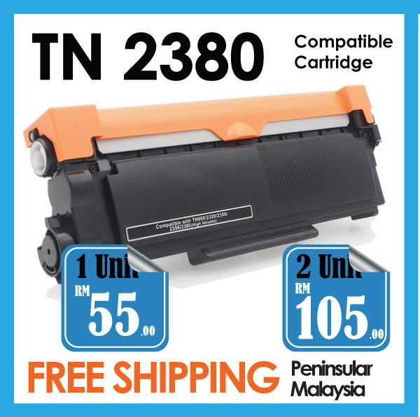 TN2380 Compatible Brother MFC 2700D 2700DW 2740 2740DW HL 2300 TN2360
