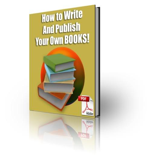 How to write and publish an e book