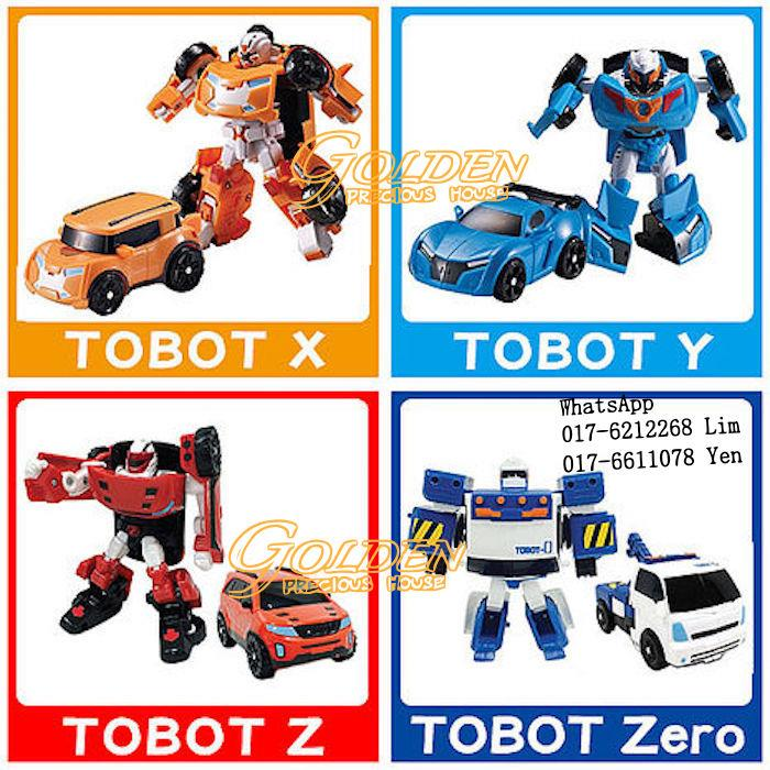 Tobot X / Y / Z / ZERO Medium Size (end 10/17/2017 8:30 PM)