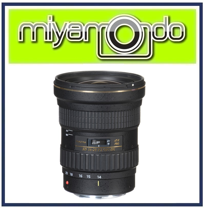 NEW Tokina AT-X 14-20mm f/2 PRO DX Lens for Nikon Mount