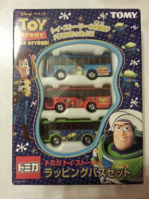 Tomy Takara Tomica Gift Set - Toy Story Buses NEW RARE