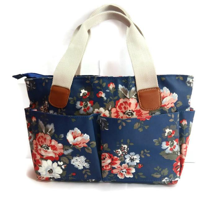 Top Handle Bag Flower Style 1