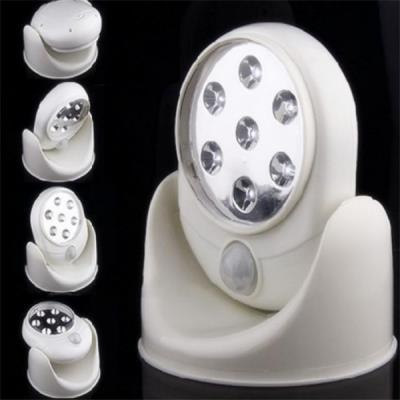 Top Quality 7 LED Light 360 Degre Rotation Activated Wireless Sensor S