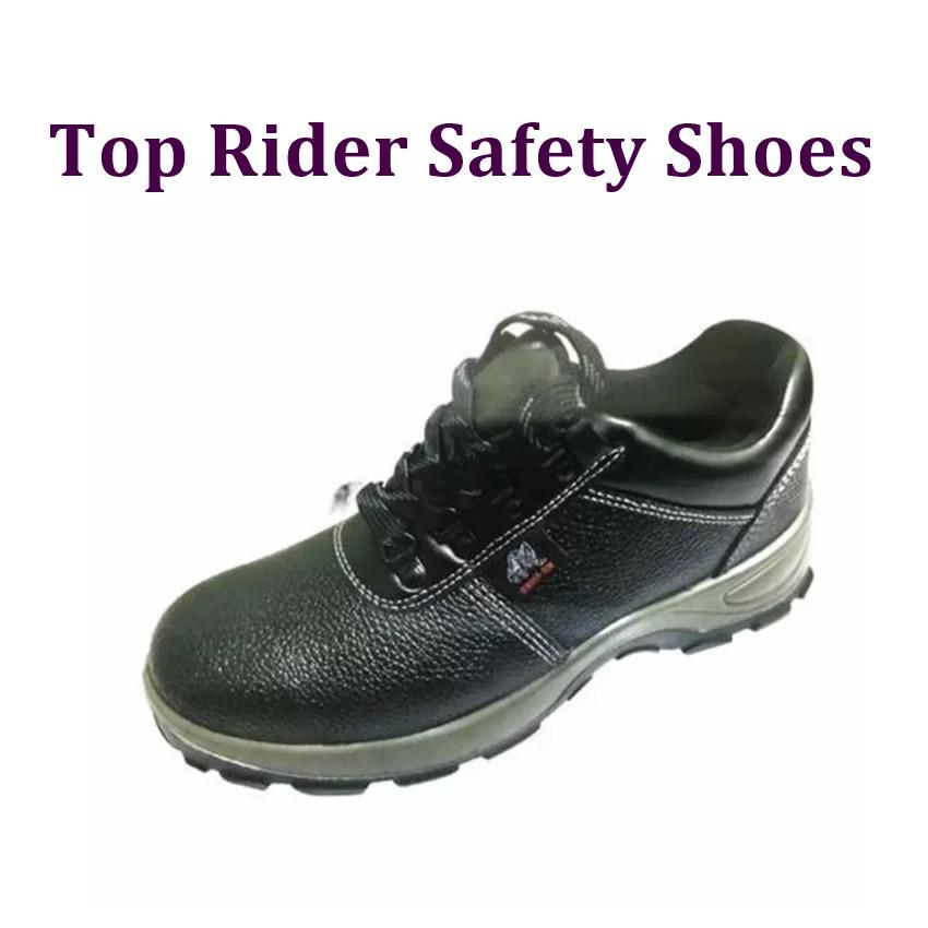 Top Rider PU Safety Shoes 3100SP- Black