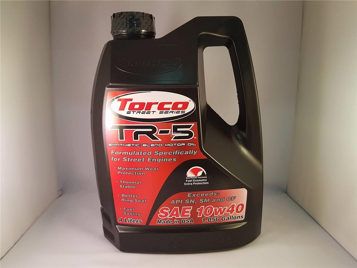 Torco Tr 5 10w40 Synthetic Blend Eng End 8 26 2017 5 15 Pm