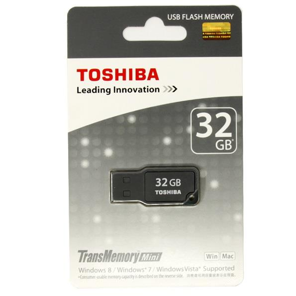 TOSHIBA 32GB MIKAWA USB2.0 FLASH DRIVE