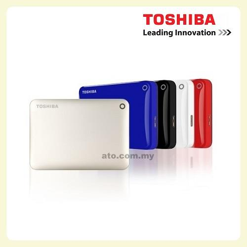 Toshiba Canvio Connect 500GB | 1TB (3 Years Manufacturer Warranty)