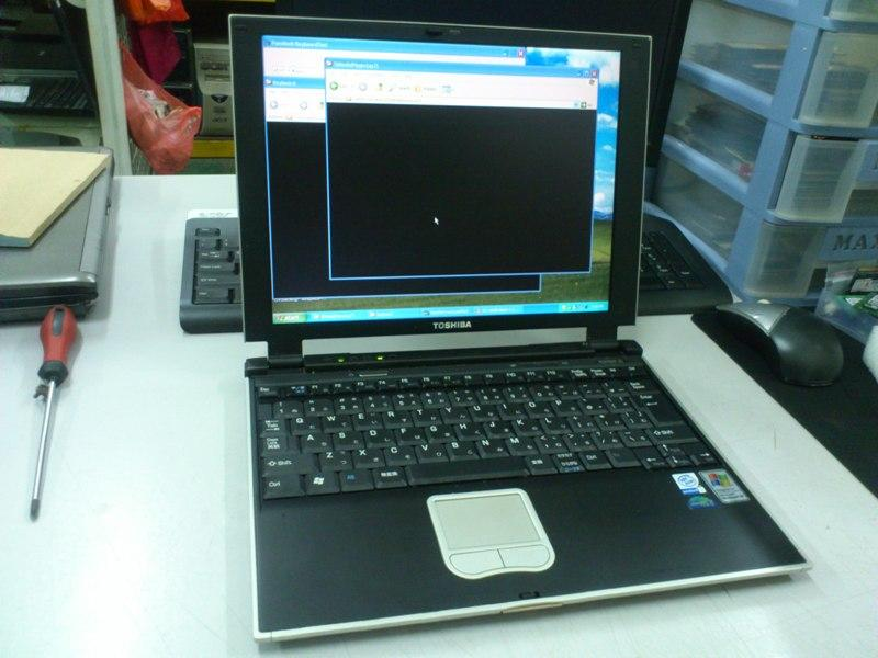 Toshiba DynaBook SS 2000 DS80P/2 Intel P3 Notebook 060613