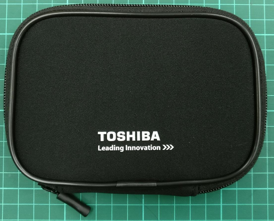 Toshiba External Harddisk HDD Pouch ( BLACK ) Larger Size