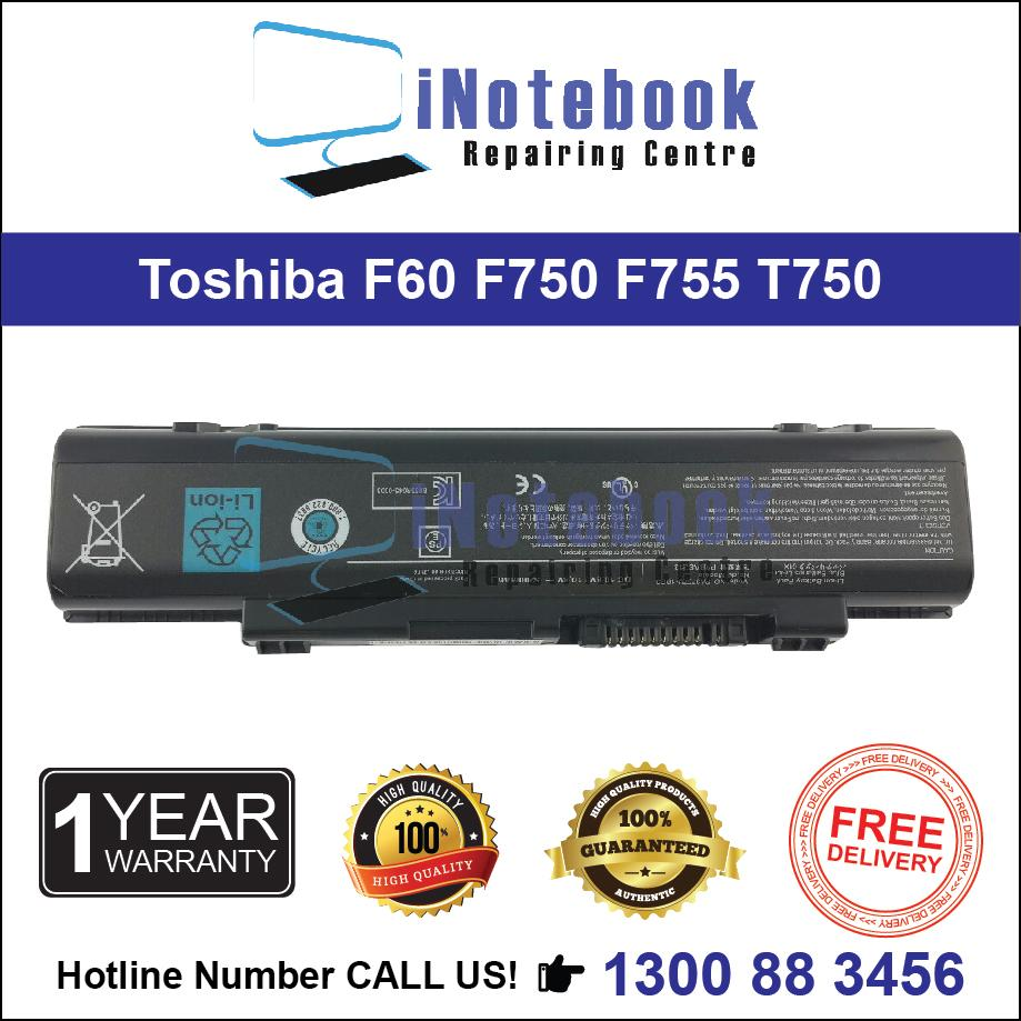 Toshiba F60 F750 F755 T750 T851 V65 PA3757 - New Laptop Battery
