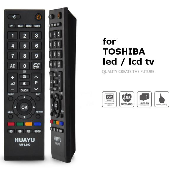 Toshiba LED/LCD TV Remote Control Multi Models Compatible replacement