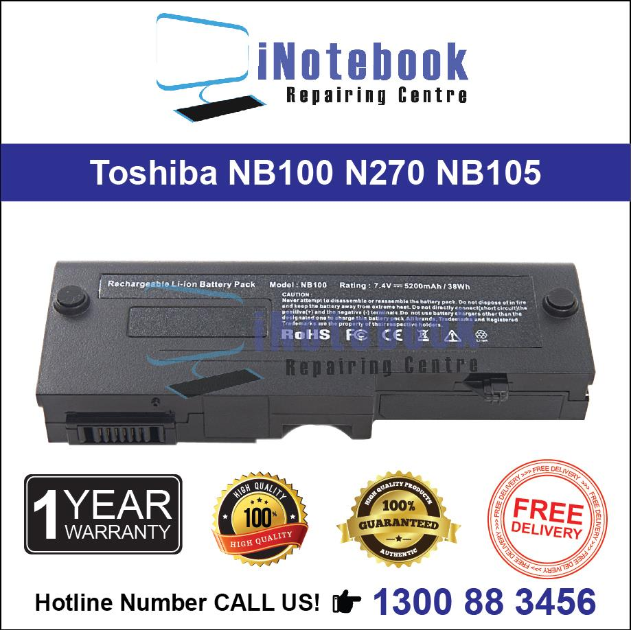 Toshiba NB100 N270 NB105 PA3689 - New Laptop Battery