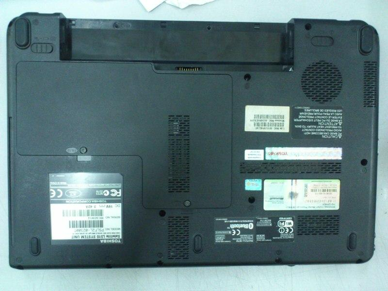 Toshiba Satellite L510 Notebook Mainboard Casing Bottom 021213