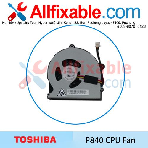 Toshiba Satellite P770 P770D P775 P775D P840 P840T Series CPU Fan