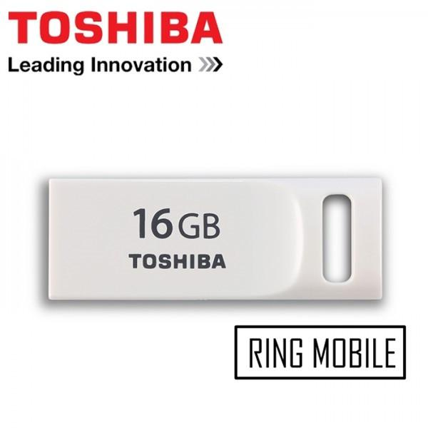 Toshiba TransMemory Mini Suruga USB 2.0 Flash Drive - 16GB - Original