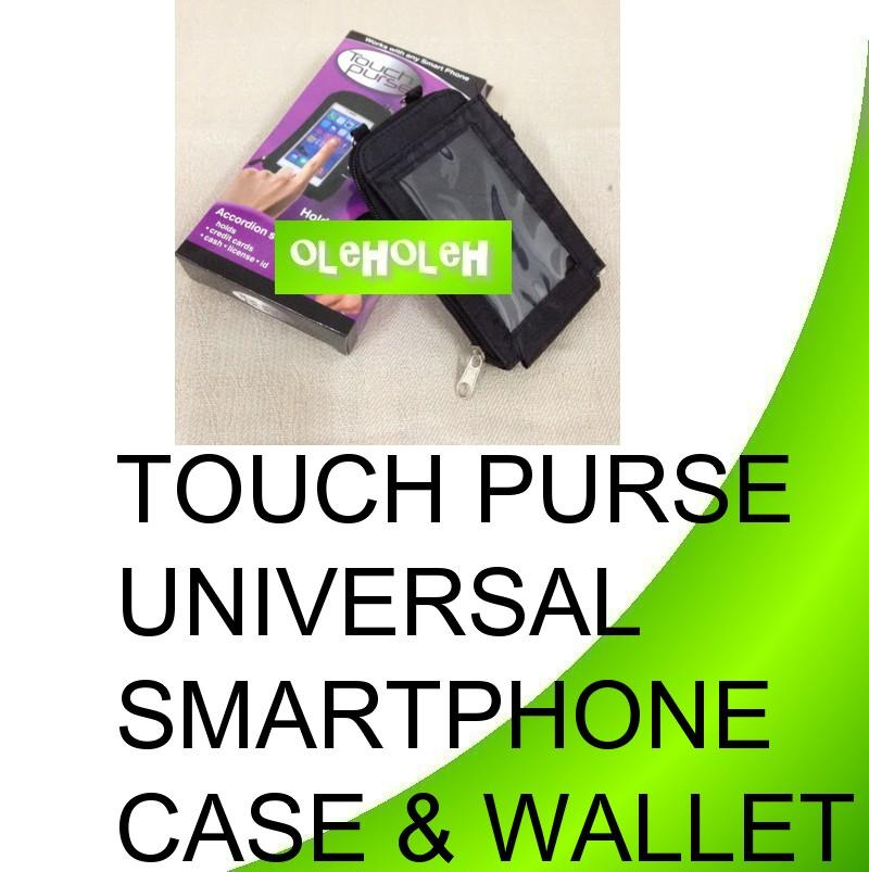 Touch Purse Universal Smartphone Case & Wallet
