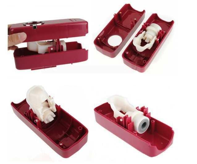 Touch Me Toothpaste Dispenser & Brush Holder Touch tooth brush bath
