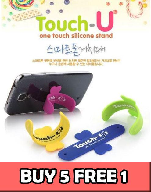 Touch-U Uni Stand Holder for Iphone 6 Note 3 4 Xiami Mi4 (5 Free 1)
