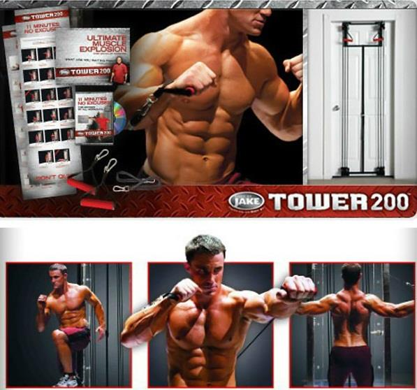 Tower 200 AB Tone Exercises
