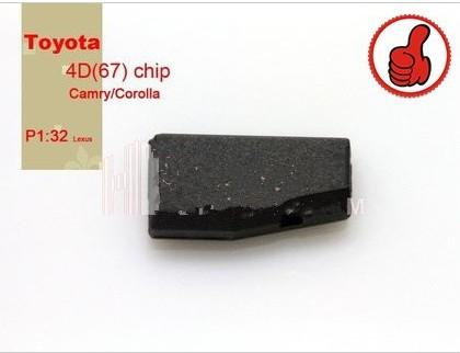 Toyota 4D67 Chip for camry and corolla Transponder chip