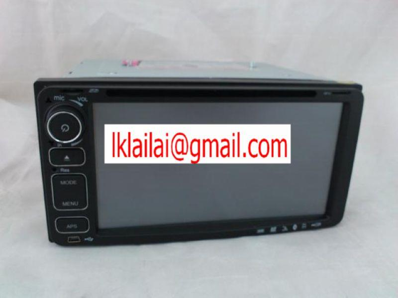 Toyota 7 inch OEM DVD/VCD/CD/MP3/USB Player GPS Full hd screen