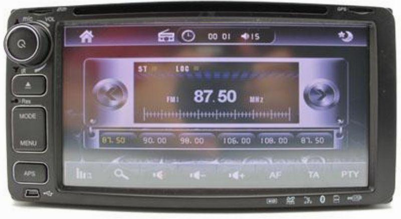 Toyota 7 Inch OEM DVD/VCD/MP3/CD/USB Player Free Reverse Camera
