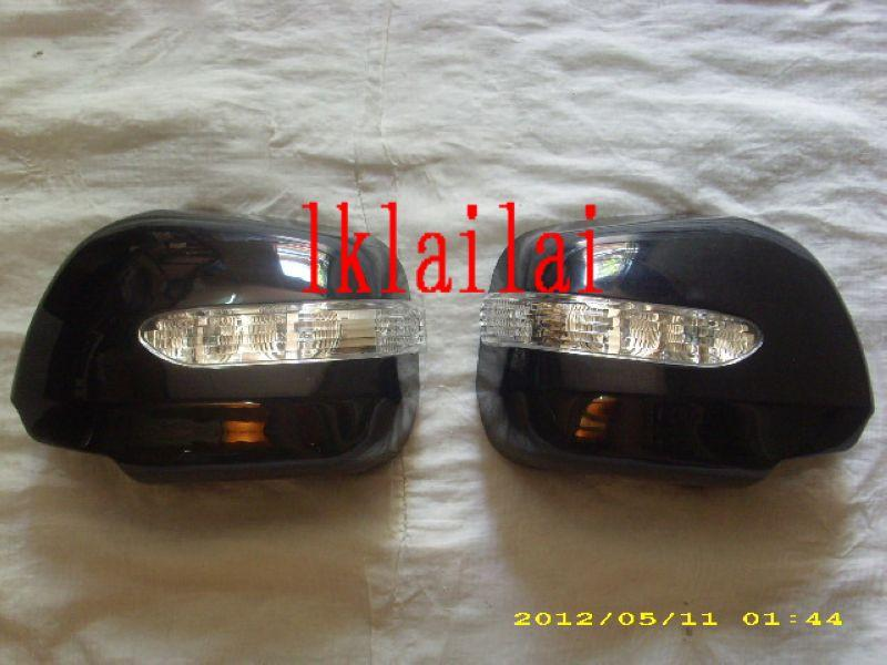 Toyota Alphard `02 Door Mirror Cover W/ Light [Silver][TY18-DM06-U]