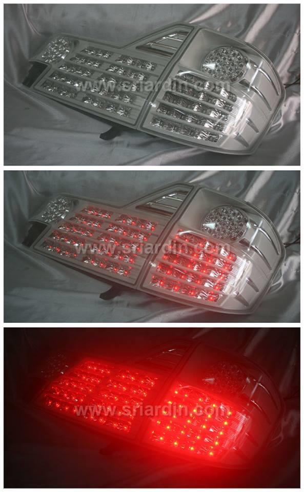 Toyota Alphard 02 White Face LED Tail Lamp