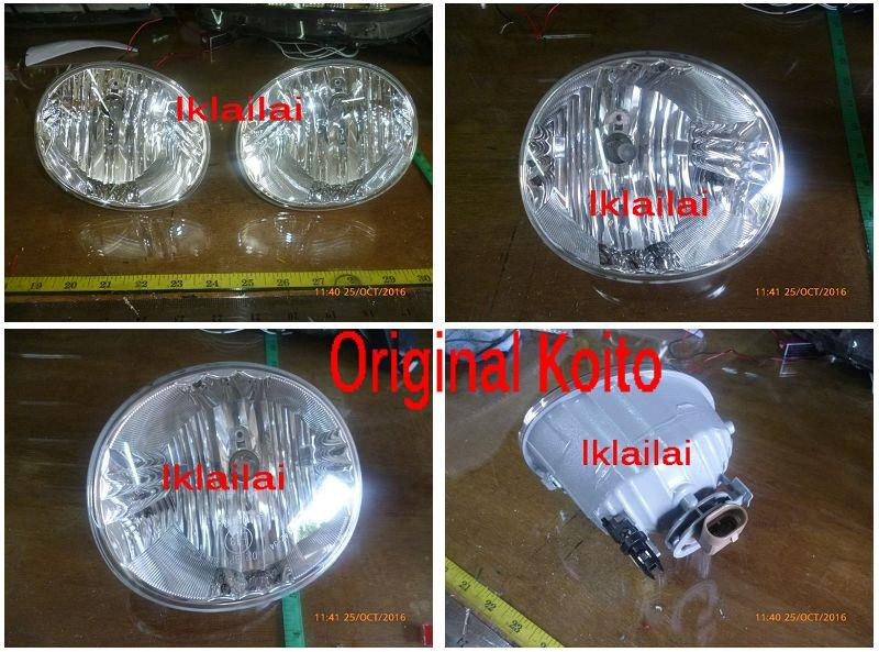 Toyota Alphard '06 Original Fog Lamp [Japan] 1-pair