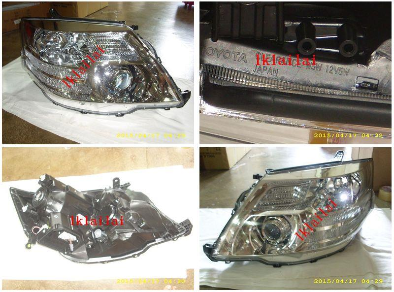 Toyota Alphard '06 Projector Head Lamp 1-pair [Option add DRL+CCFL]