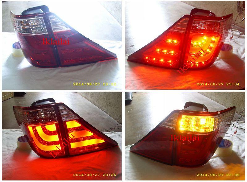 Toyota Alphard '08 Vellfire / '09 LED Light Bar Tail Lamp Clear-Red