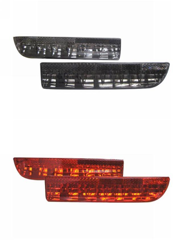 Toyota Alphard/Estima ACR 50 Rear Bumper LED Reflector [Red/Smoke]