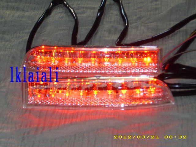 Toyota Alphard/Estima ACR 50/Wish Rear Bumper LED Reflector [Clear Len