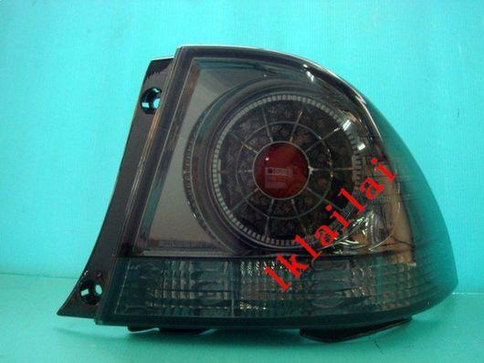 TOYOTA ALTEZZA / IS200 '01-04 LED TAIL LAMP+Reverse Lamp [Smoke]