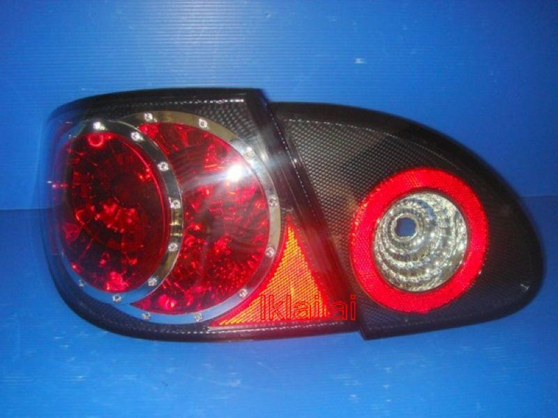 Toyota Altis '01-04 Crystal Tail Lamp