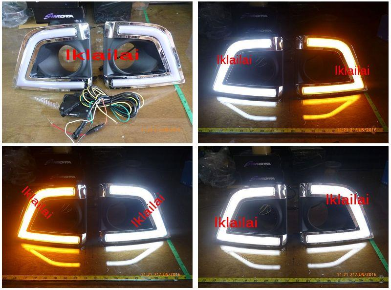 Toyota Altis '14 Fog Lamp Cover With 2-Function Daylight