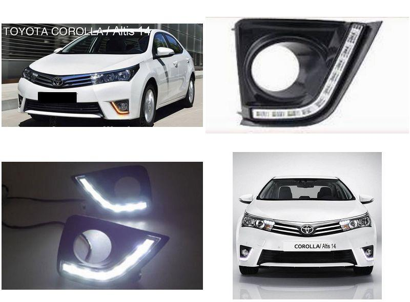 Toyota Altis '14 / Vios '14 Fog Lamp Cover With 2-Function Daylight