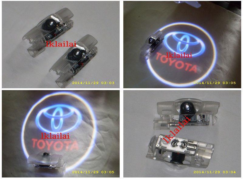 Toyota Altis/Vios/Wish/Vellfire/Camry Door Shadow Light [Plug&Play]