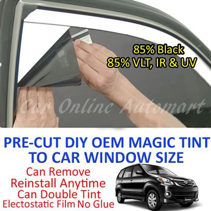 Toyota Avanza 2002 - Present Magic Tinted Solar Window ( 6 Windows ) 8