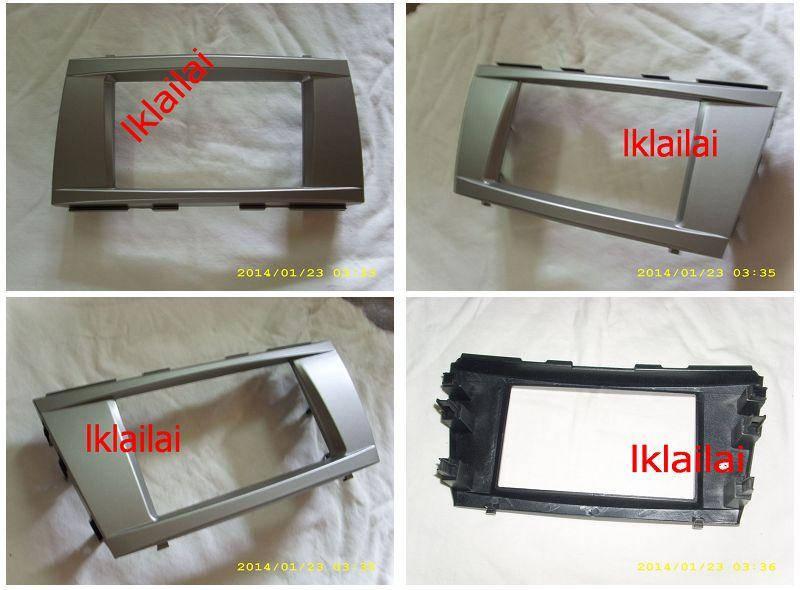 Toyota Camry '06 Double Din Casing /Dashboard Panel Casing [Silver]