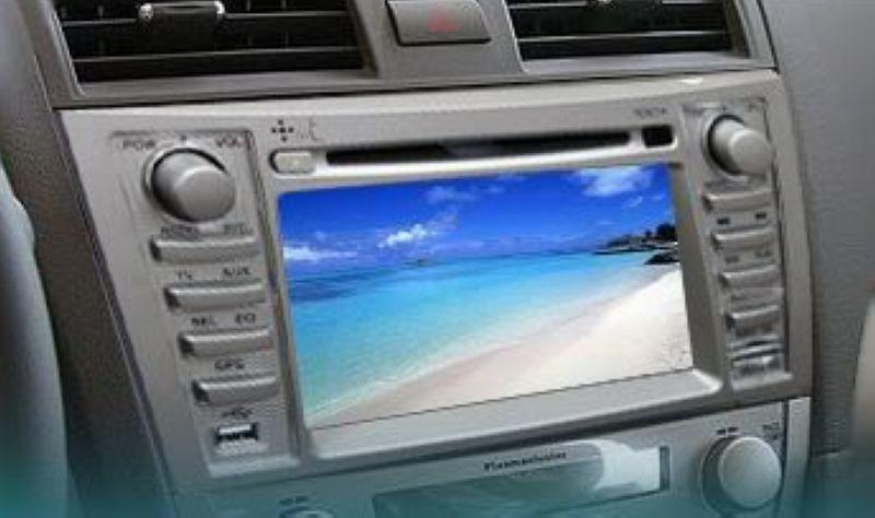 Toyota Camry '08-11 OEM Bluetooth DVD Player /Audio System With Casing