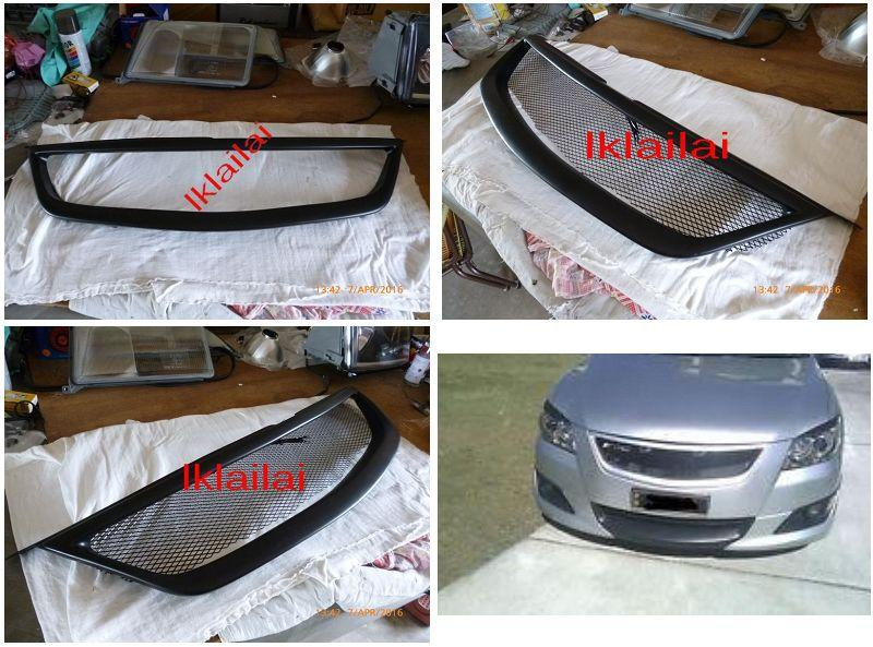 Toyota Camry '08 Front Mesh Grille ABS Material