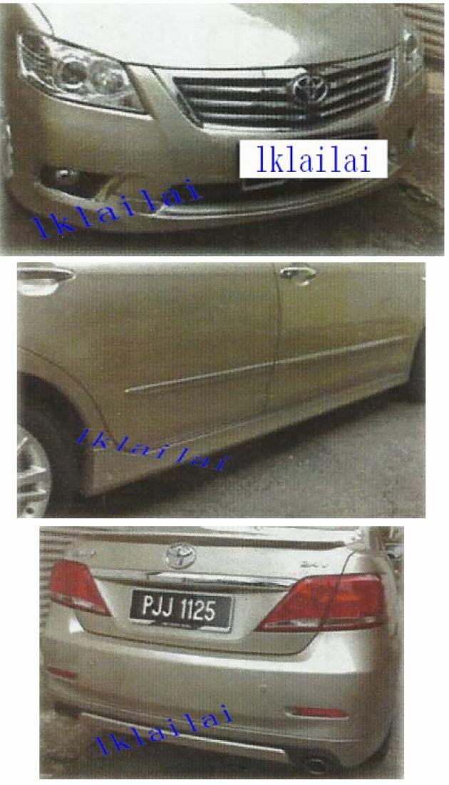 Toyota Camry '09-11 PPU BodyKit OEM Style [Skirt]Painted